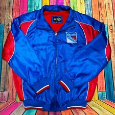 New York Rangers G-III NHL Team Jacket | Mens Small, Puffer, Full Zip Polyester