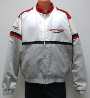 vtg ARMSTRONG RACING 80s/90s Satin Jacket XL Off-Road Team rhino usa