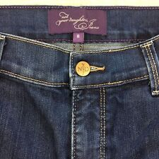 NYDJ Not Your Daughters Jeans Bling Pockets Lift Tuck Technology Denim Blue USA