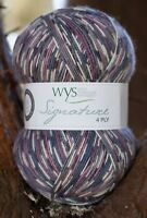 West Yorkshire Spinners Signature 4 Ply Yarn Wool 100g - Wood Pigeon (864)
