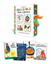 The Eric Carle Mini Library-NEW storybook gift set-4 books-great gift!