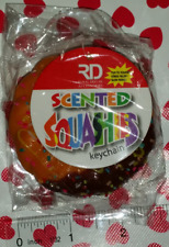 NEW Scented Squashies Squishy Chocolate Donut Sprinkles Keychain Free shipping!