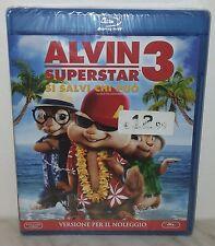 BLU-RAY ALVIN SUPERSTAR 3 - NUOVO NEW - VERSIONE NOLEGGIO