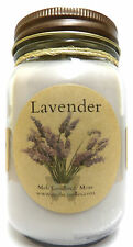 LAVENDER 16oz Country Jar SOY Candle Wholesale Scented Candles