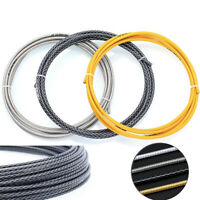 Bicycle Brake Cable MTB Derailleur Bike Cables Weaving Line Tube Shifting Wire