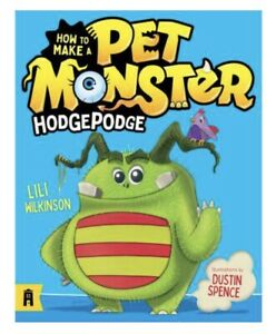 How to Make a Pet Monster Hodgepodge Book Children Fun Game Mind Relax NEW