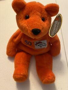 Denver Broncos Terrell Davis Bean Bag (Orange) Vintage 1999 by Salvino's Bammers