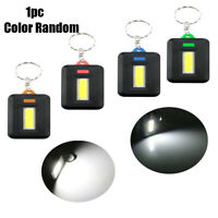 Mini Portable 3 Modes Pocket COB Work-light LED Flashlight Torch Key Chain