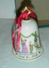Lenox Musical Bell Ornament Deck The Halls with box