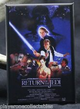 "Return of the Jedi Movie Poster 2"" X 3"" Fridge / Locker Magnet. Star Wars"
