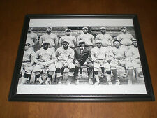 1916 ST. LOUIS GIANTS TEAM FRAMED PRINT NEGRO LEAGUE