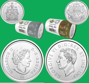 Sold out! 2021 Canada 50 cent 2 coin set 100 anniversary regular limited edition
