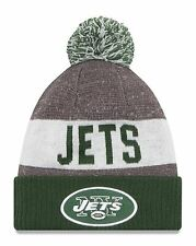 NY Jets 2016-17 Players Sideline Sports Knit Beanie Cap Hat NFL New Era