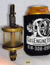 Brass Oiler Hit Miss Gas Engine 14 Thread 5 Tall