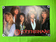 Whitesnake Poster 1990 Vintage Poster 34x22