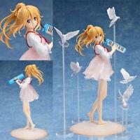 Anime Your Lie in April Miyazono Kaori 1/8 Figure Cute Girl New Toy Gift in box
