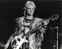 THE POLICE PHOTO 1983 STING UNIQUE UNRELEASED IMAGE EXCLUSIVE 12INCHS LONDON GEM