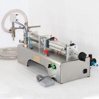 NEW! 90-1000ml Pneumatic Liquid Filling Machine Water/Perfume/Thin Shampoo/Oil