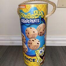 SpongeBob SquarePants Hardwood Oversize Big Dice Game Favorite Characters Age 6+