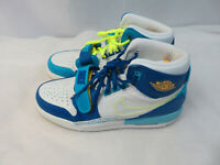 Nike Air Jordan Legacy 312 Fly White Blue Size 6.5Y Women's 8 CI4446-400 New