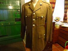 "Military Army Jacket - Roger John Jones Ltd. London - 1976 pattern - chest 38"""