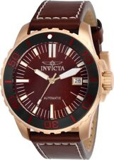 Invicta 25647 Pro Diver Men's 45mm Tin Bronze Rose-Tone Red Dial Automatic Watch