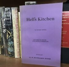 Hell's Kitchen (Paradise Alley) Sylvester Stallone Uncorrected Proof 1st Edition