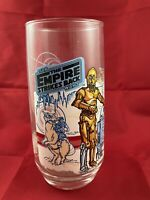 1980 Star Wars R2 D2 C 3PO Empire Strikes Back Glass Burger King Coca Cola 6225