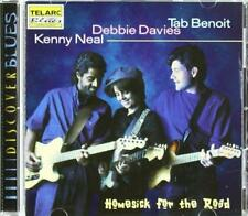 Kenny Neal Debbie Davies Tab Benoit - Homesick For The Road (NEW CD)