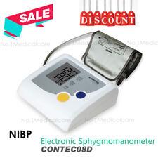 Automatic Digital Adult Cuff Blood Pressure Monitor BP Machine Gauge Measurement