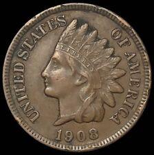 1908-S Indian Head Cent 1C Penny San Francisco (C143)
