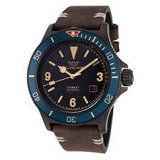 Glycine Men's Combat Sub Vintage GL0270 42mm Black Dial Silicone Watch