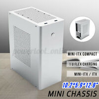 CEMO L1 Aluminum Mini Chassis for HTPC Mini-ITX Desktop Empty Computer Case New