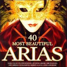 40 Most Beautiful Arias (CD, Jan-2008, 2 Discs, Warner Music)
