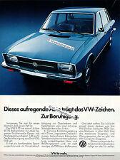 VW-K70-1972-Reklame-Werbung-genuine Advertising - nl-Versandhandel