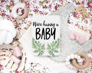 Pregnancy Milestone Cards - Pregnancy Moments & Milestones - Pregnancy Photo Pro