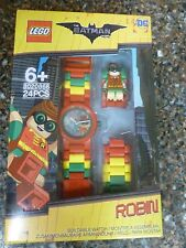 Robin LEGO Buildable Watch Batman the Movie 8020868 Brand New 24 pieces