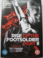 Rise of the Footsoldier Part 1 & Part  2 (DVD x 2, 2015) NEW SEALED Region 2 PAL