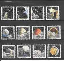 FRANCE 2016.CORRESPONDANCES PLANETAIRE.SERIE FULL OF 12 STAMP AA CANCELLED