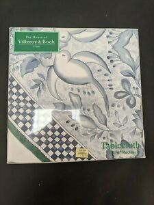 """Villeroy & Boch Tablecloth 52"""" x 70"""" Rectangle Switch Three #SH"""