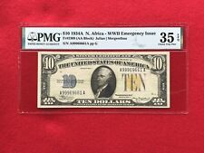 FR-2309 1934 A Series North Africa WWII $10 Silver Certificate *PMG 35 EPQ ChVF*