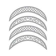 Spellbinders Designer Series Die ~ LUNETTE ARCHED BORDERS ~ S5-330