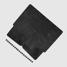 """Hood Insulation Pad 1967 1968 1969 Camaro with 1-1/2""""sq OE Style Clips DMT"""