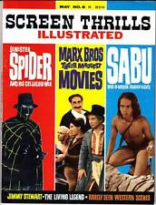 Forrest Ackerman SCREEN THRILLS ILLUSTRATED #8 (1964) The Spider, Marx Brothers