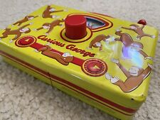Curious George Radio Tin Toddler Toy Music Box Musical Schylling
