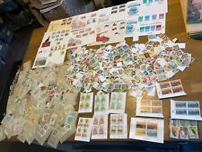 More details for zimbabwe stamps glory box 1000+++ off paper blocks 9 covers 58 packets 05z2