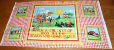 New listing New Mary Engelbreit * Mary'S Journey * Unfinished Cotton Fabric Panel