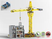 Modular Baustelle - MOC - PDF Bauanleitung - kompatibel mit LEGO Steine