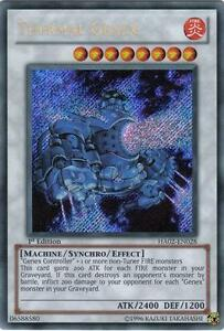 Yu-Gi-Oh Yugioh Thermal Genex HA02-EN028 Secret 1st Near-Mint!