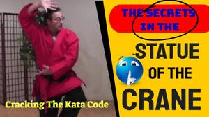 Shaolin Kempo Karate - [ SECRETS ] in Statue of the Crane - GM Jim Brassard